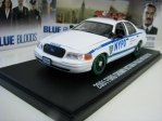 Ford Crown Victoria 2001 Police Interceptor Blue Bloods 1:43 Greenlight 86519