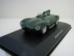 Jaguar D Type 1952 Green 1:43 Solido