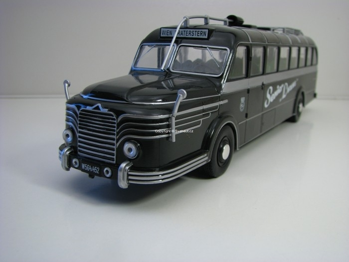 Autobus Krupp Titan 080 Germany 1:43 Atlas