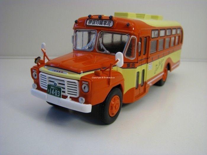 Autobus Isuzu BXD-30 Japan 1962 1:43 Atlas