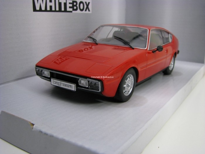 Matra Simca Bagheera 1974 Red 1:24 White Box