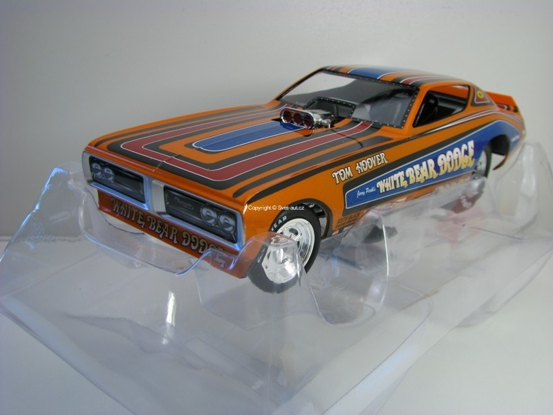 Dodge Charger Funny Car 1971 Tom Hoover White Bear Dodge 1:18 Ertl