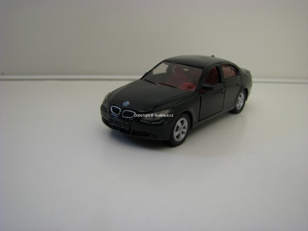 BMW 545i Black Siku blister 1045