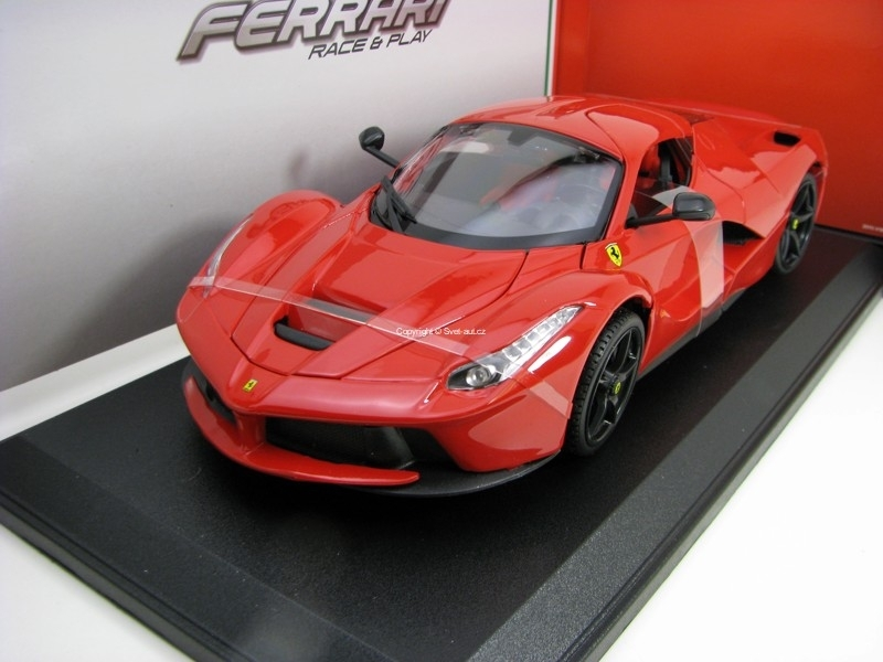 Ferrari LaFerrari Red 1:18 Bburago Race & Play