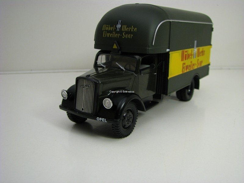 Opel Blitz Furniture Wagon 1949 1:43 Atlas Edition DeAgostini