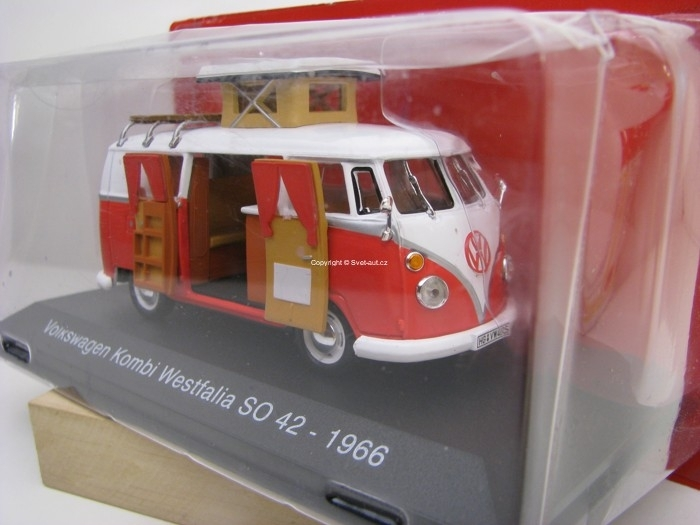 Volkswagen T1 Kombi Westfalia SO 42 1966 1:43 Atlas Edition