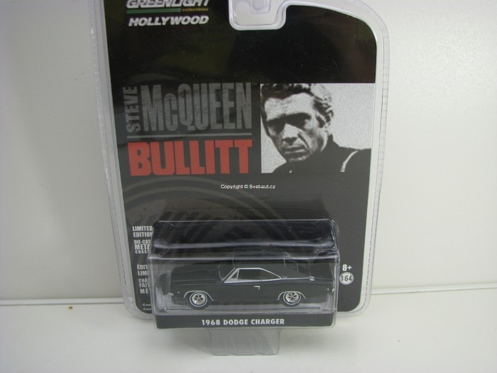 Dodge Charger R/T 1968 McQueen Bullitt 1:64 Greenlight