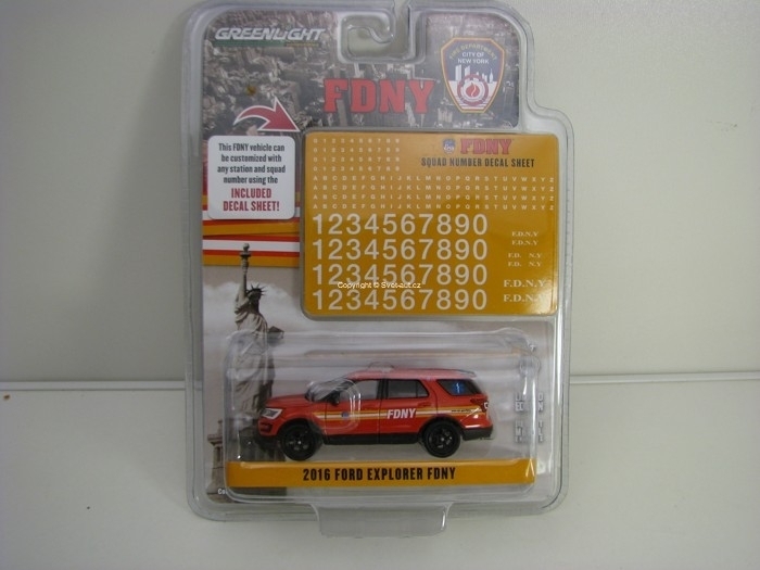 Ford Explorer 2016 FDNY 1:64 Greenlight