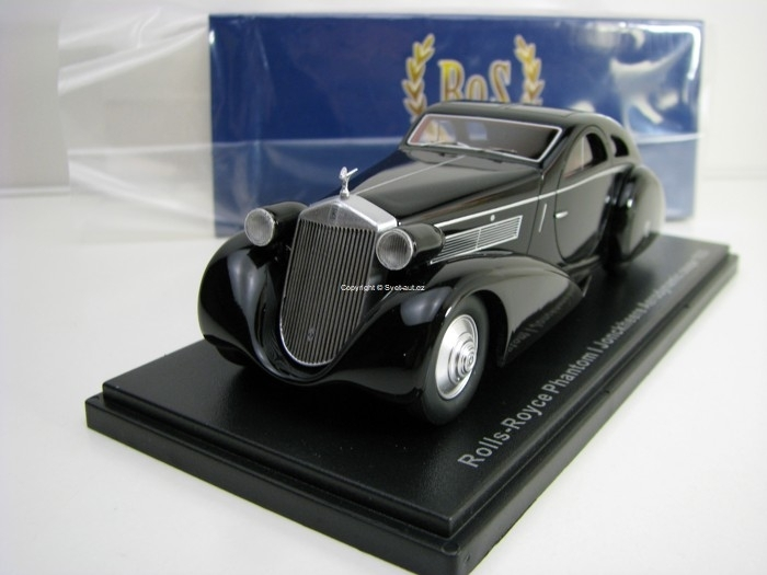 Rolls Royce Phantom I Jonckheere Aerodynamic Coupe 1935 Black 1:43 BoS-Models