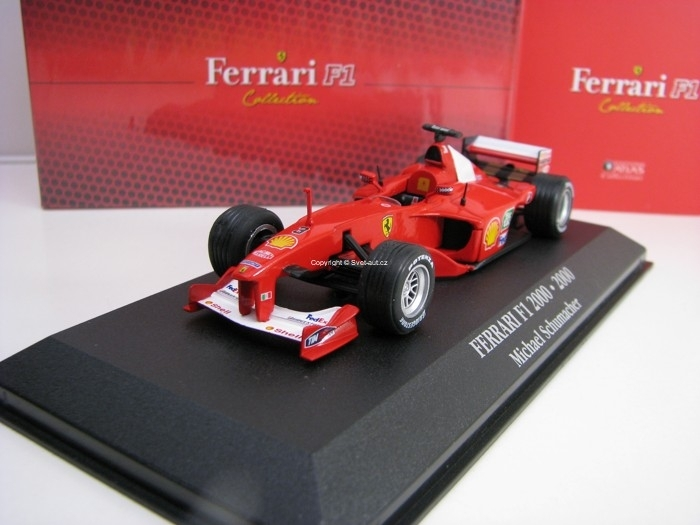 Ferrari F1 2000 Michael Schumacher 2000 1:43 Atlas Edition