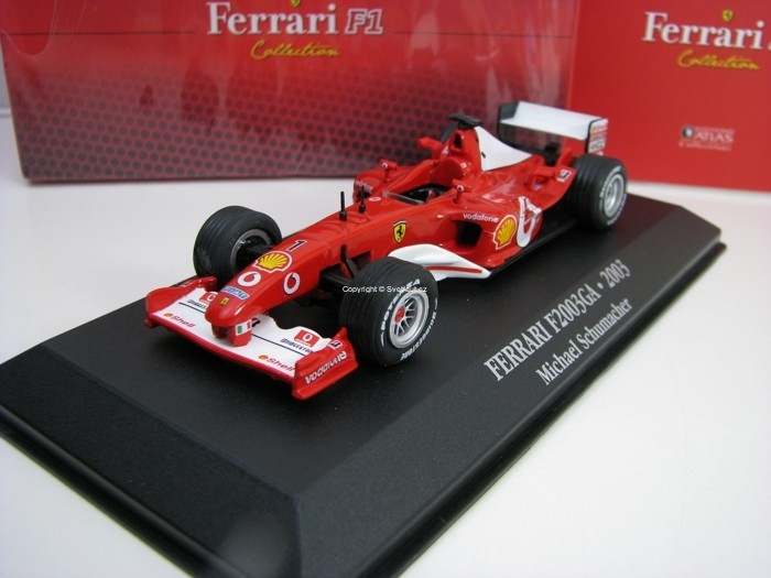 Ferrari F2003GA Michael Schumacher 2003 1:43 Atlas Edition