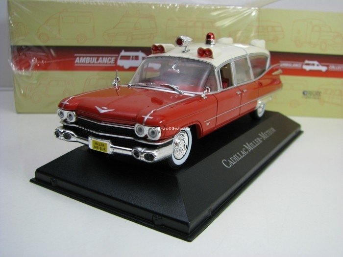 Cadillac Miller-Meteor 1:43 Atlas Edition Ambulance