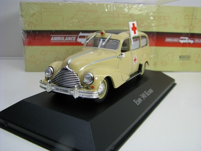 EMW 340 Kombi 1:43 Atlas Edition Ambulance