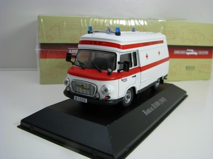 Barkas B1000 1965 1:43 Atlas Edition Ambulance
