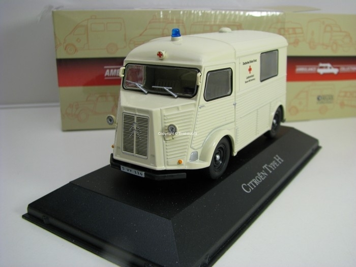 Citroen Type H 1:43 Atlas Edition Ambulance