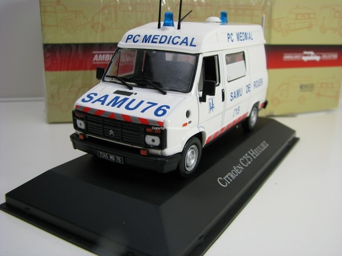 Citroen C25 Heuliez 1:43 Atlas Edition Ambulance