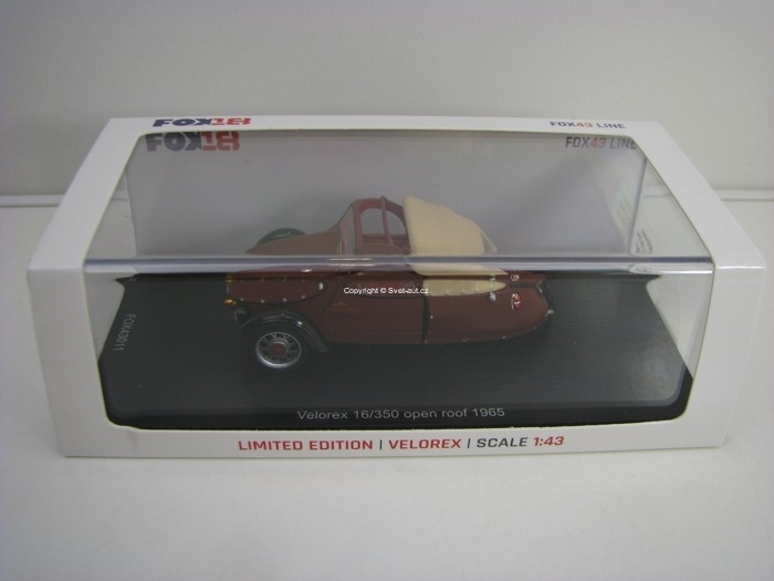 Velorex 350/16 open rof 1965 1:43 Spark - FOX18