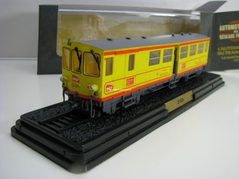 Lokomotiva Train Jaune Z-105 1909 1:87 Atlas Edition