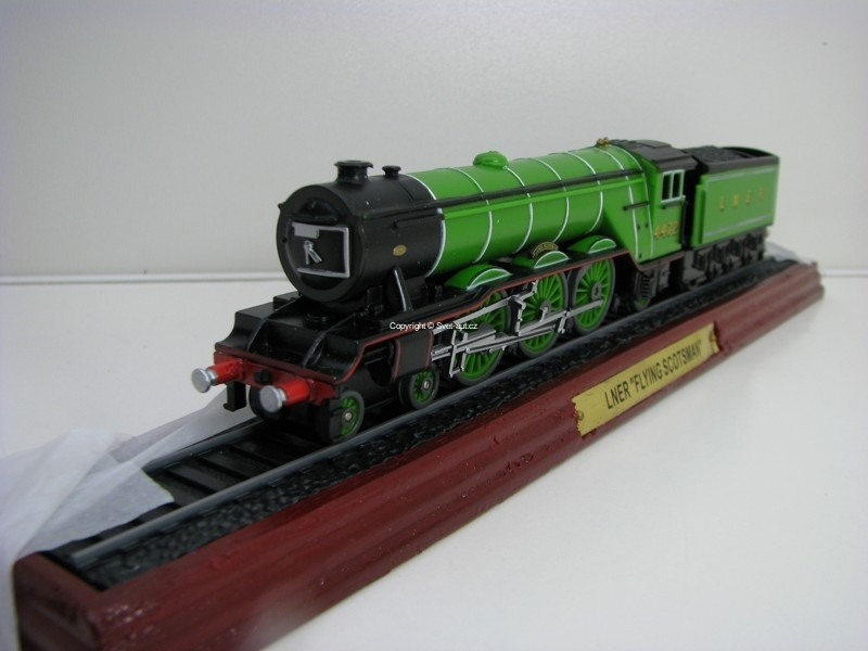 Lokomotiva LNER Flying Scotsman 1:87 Atlas Edition