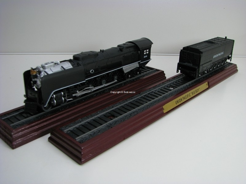 Lokomotiva Union Pacific FEF + Big Boy 1:87 Atlas Edition