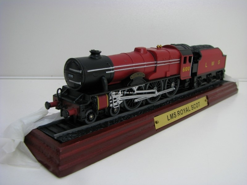 Lokomotiva LMS Royal Scot 1:87 Atlas Edition