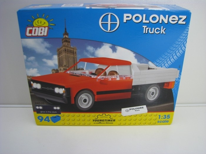 Cobi 24535 FSO Polonez Truck stavebnice 1:35 Youngtimer collection