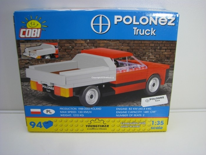 Cobi 24535 FSO Polonez Truck stavebnice 1:35 Youngtimer collecti