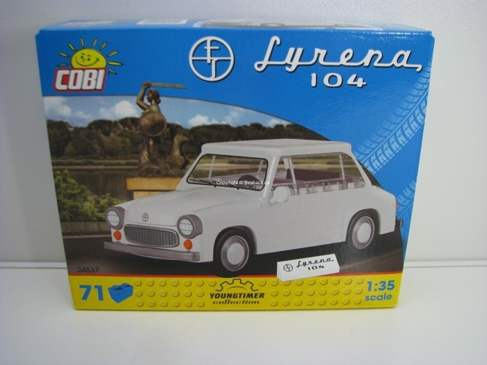Cobi 24537 Syrena 104 stavebnice 1:35 Youngtimer collection