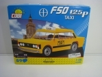 Cobi 24547 Polský Fiat 125p Taxi stavebnice 1:35 Youngtimer collection