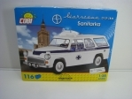 Cobi 24549 Warszawa 223A Sanitka stavebnice 1:35 Youngtimer collection