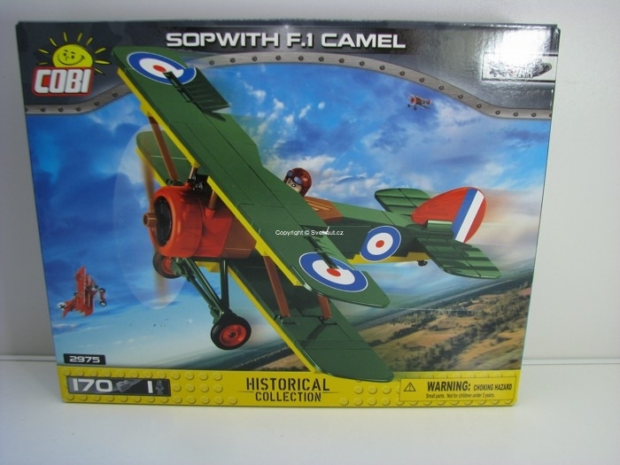 Cobi 2975 Sopwith F.1 Camel stavebnice Great War Historical collection