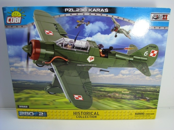 Cobi 5522 PZL.23B Karaš stavebnice World War II Historical collection