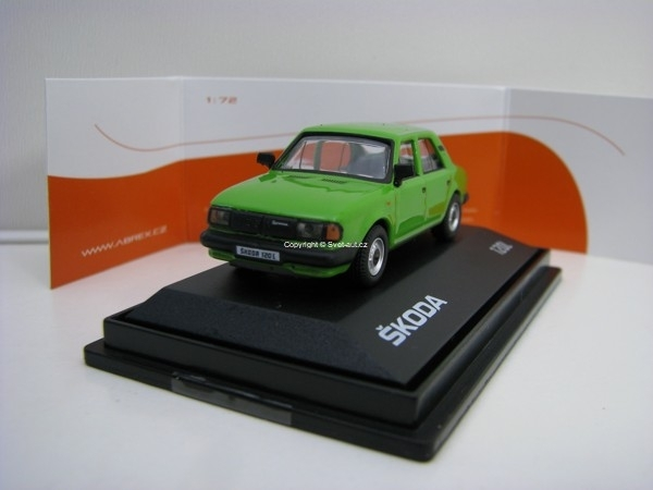 Škoda 120L 1984 Light Green 1:72 Abrex