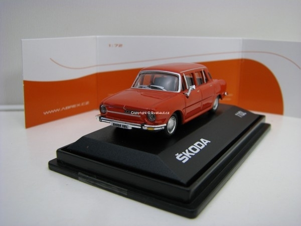 Škoda 110L 1:72 Pepper Red Abrex