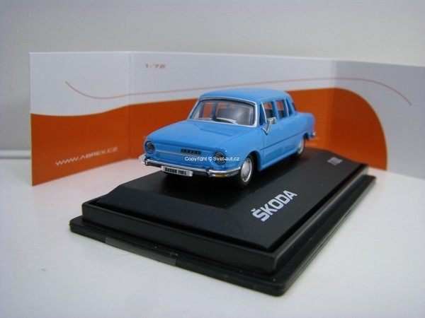 Škoda 110L 1:72 Light Blue Abrex