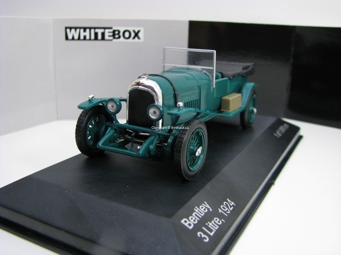 Bentley 3 Litre RHD Cabrio 1924 1:43 White Box WB171