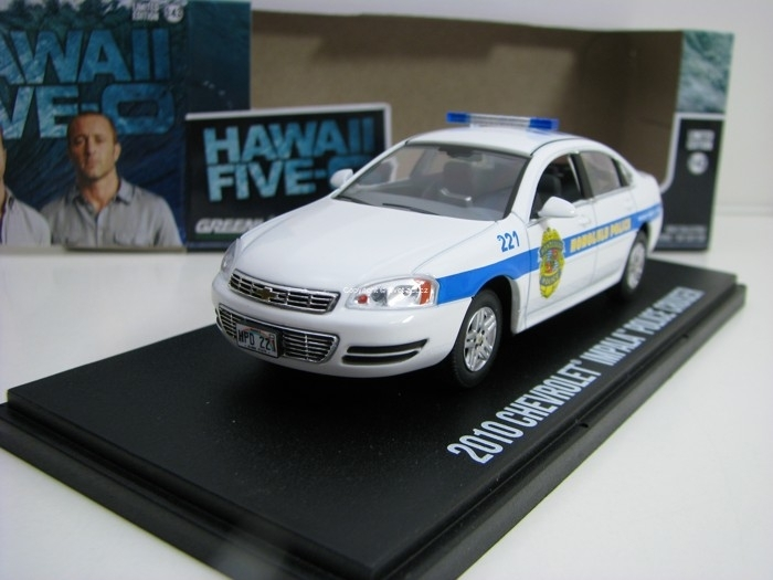 Chevrolet Impala 2010 Honolulu Police Hawaii Five-0 1:43 Greenlight 86518