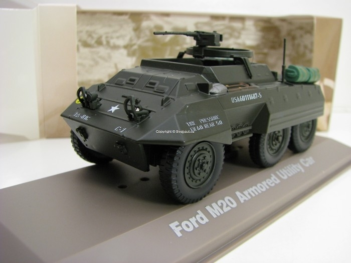 Ford M20 Armoured Utility Car 1:43 Atlas Edition