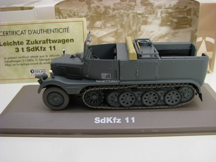 SdKfz 11 1:43 Atlas Edition