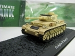 Tank Pz.Kpfw. IV Ausf. G 1:72 Ultimate tank Collection Atlas