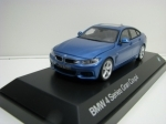 BMW 4 (F36) Gran Coupé 2014 Estoril Blue 1:43 Kyosho