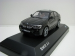 BMW X4 (F26) 2015 Black 1:43 Kyosho