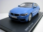 BMW M4 Coupé (F82) Yas Marina Blue 1:18 Paragon Models