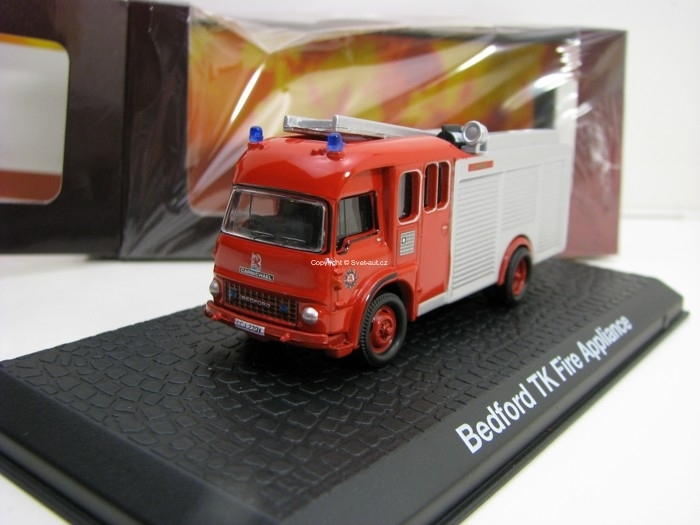 Bedford TK Fire Appliance Hasiči 1:72 Atlas