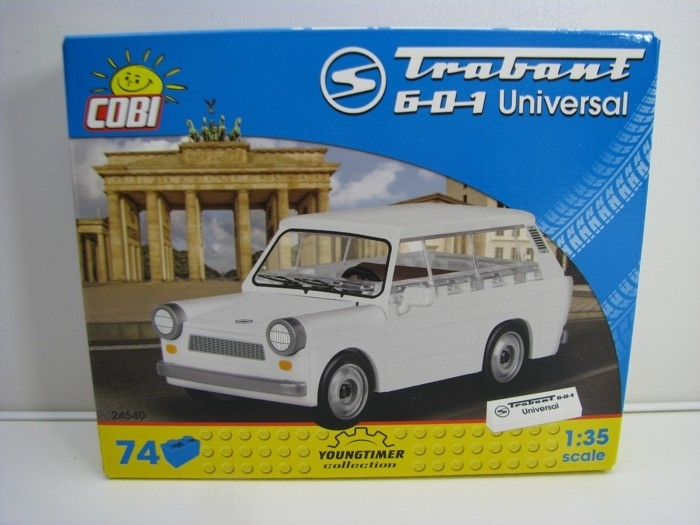 Cobi 24540 Trabant 601 Universal stavebnice 1:35 Youngtimer collection