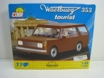 Cobi 24543 Wartburg 353 tourist stavebnice 1:35 Youngtimer collection