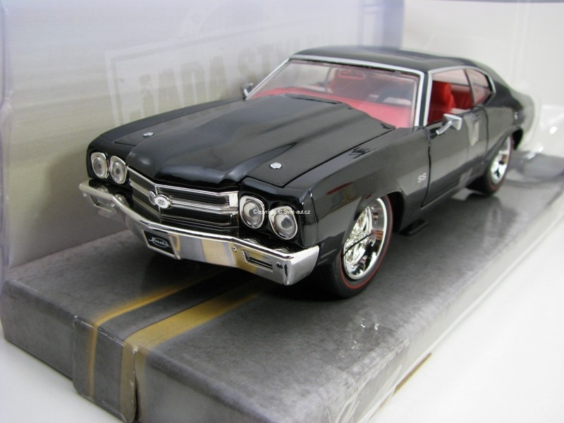 Chevy Chevelle SS 1970 Black 1:24 Jada Toys