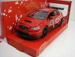 Subaru WRX STI 2016 Red Widebody No.16 1:24 JDM Tuners Jada Toys