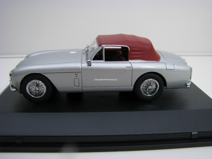 Aston Martin DB MkII DHC Snow Shadow Grey 1:43 Oxford