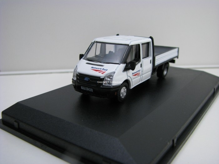 Ford Transit Dropside Network Rail 1:76 Oxford